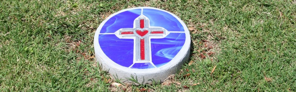 labyrinth stone read heart home Glendale United Methodist Church Nashville Sunday