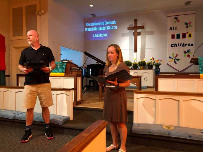 Lee-Rector-Joins-Glendale-United-Methodist-Church
