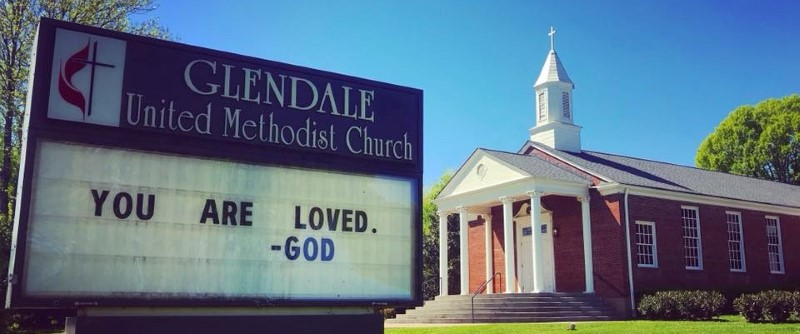 You Are Loved by God at Glendale United Methodist Church Nashville TN UMC