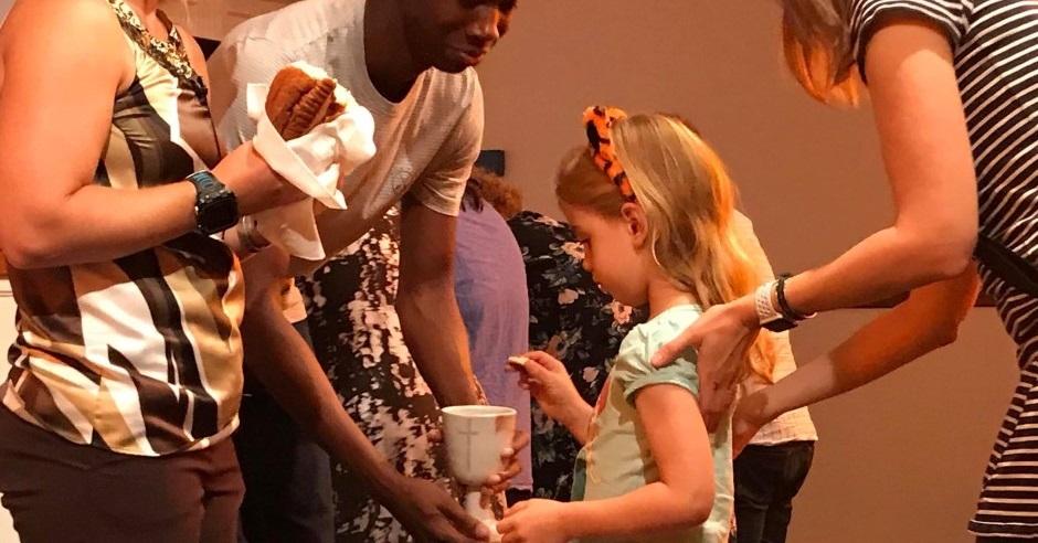 communion at glendale united methodist church nashville tn umc ella murdock