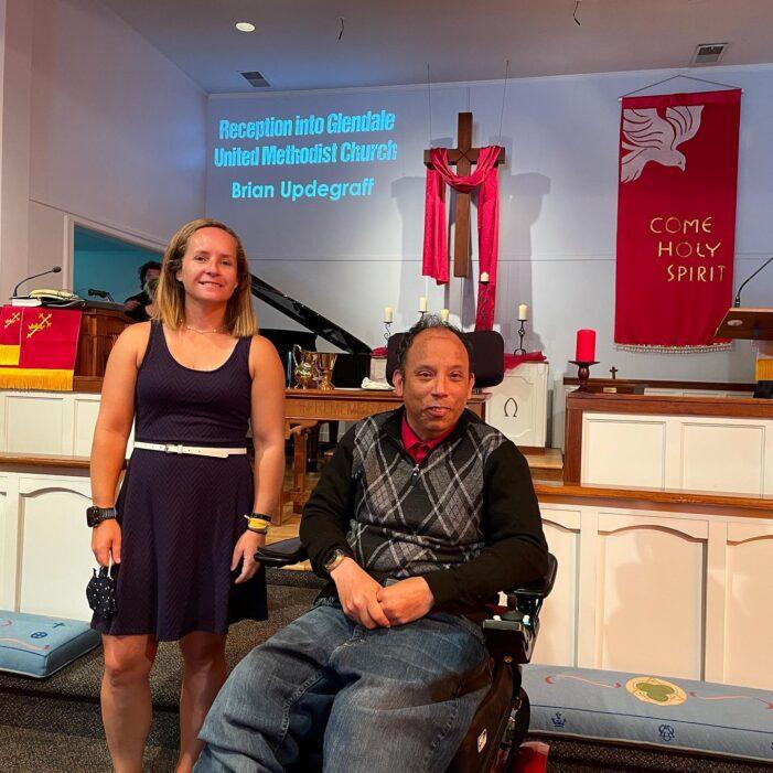 Brian Updegraff Joins Glendale United Methodist Church - Nashville TN UMC