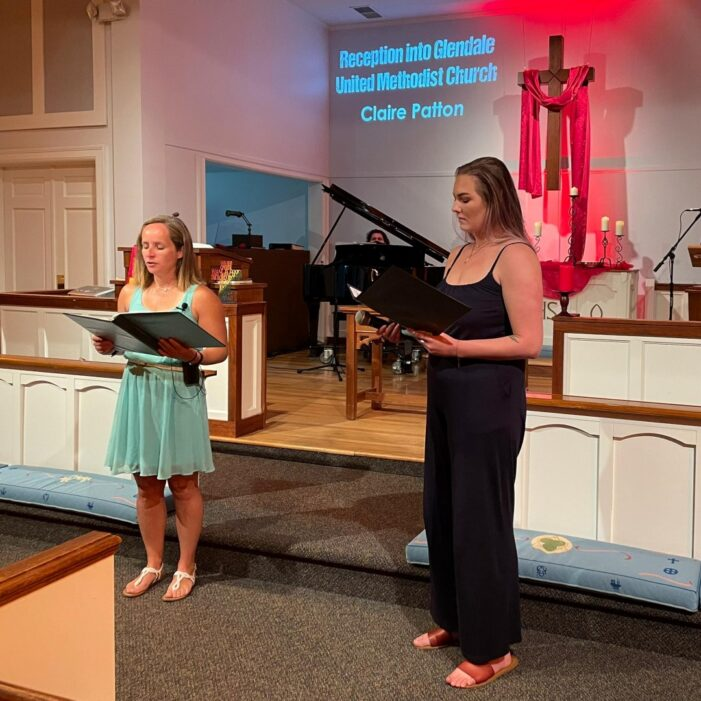 Claire Patton Joins Glendale United Methodist Church - Nashville TN UMC (Custom) (Custom)