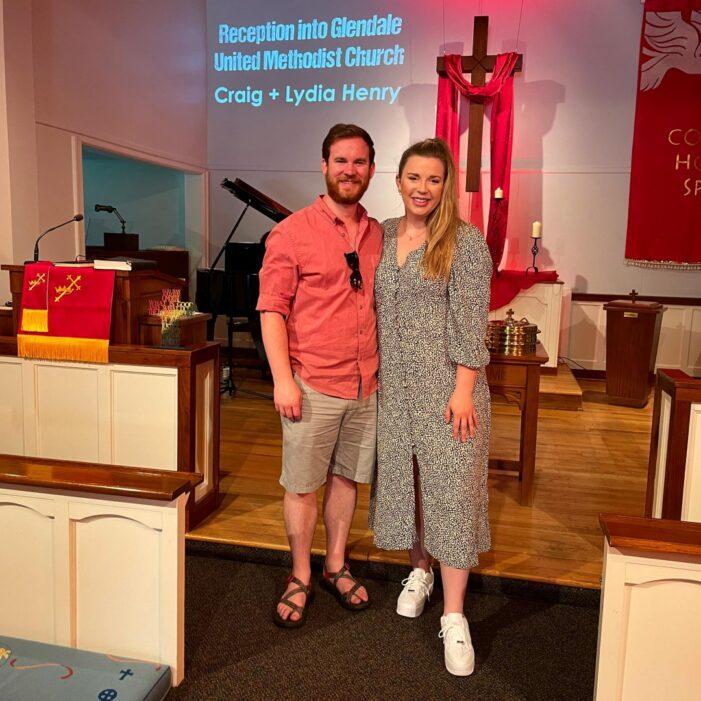 Craig and Lydia Henry Join Glendale United Methodist Church - Nashville TN UMC (Custom)
