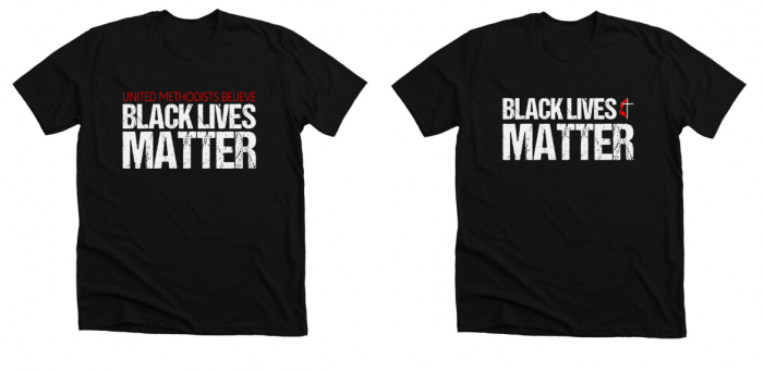 Glendale United Methodist Church Black Lives Matter Shirts