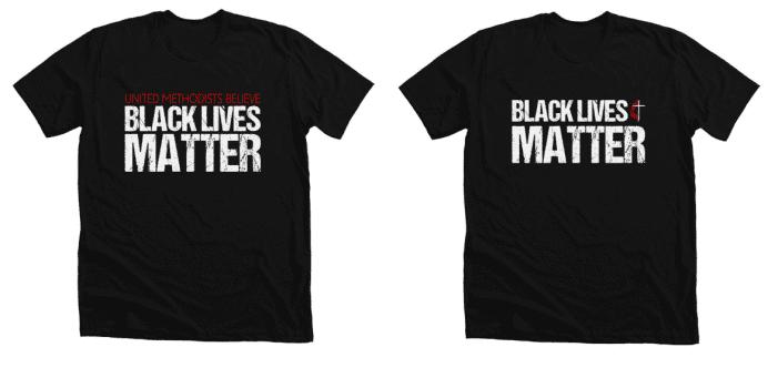 Glendale United Methodist Church Black Lives Matter Shirts
