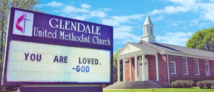 Glendale-United-Methodist-Church-Sign-You-Are-Loved-By-God