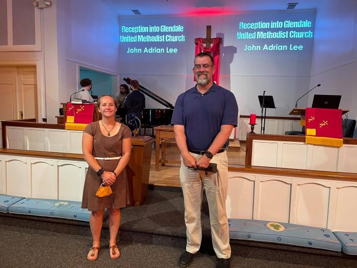 John Lee Joins Glendale United Methodist Church - Nashville TN UMC (Custom)