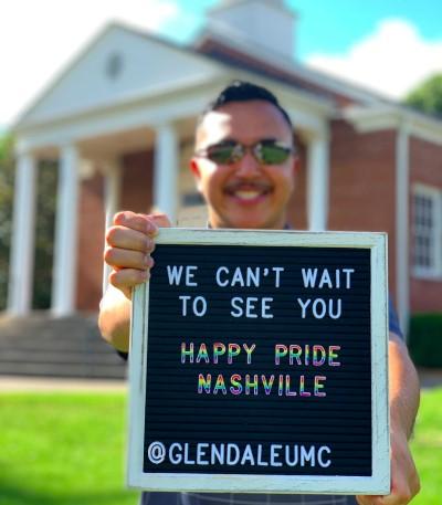 Nashville Pride 2019 Glendale United Methodist Church Paul Gomez