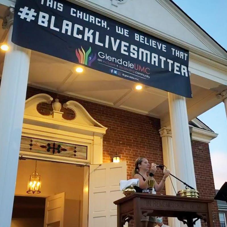 Rev. Steph Dodge Black Lives Matter Glendale United Methodist Church Nashville TN UMC